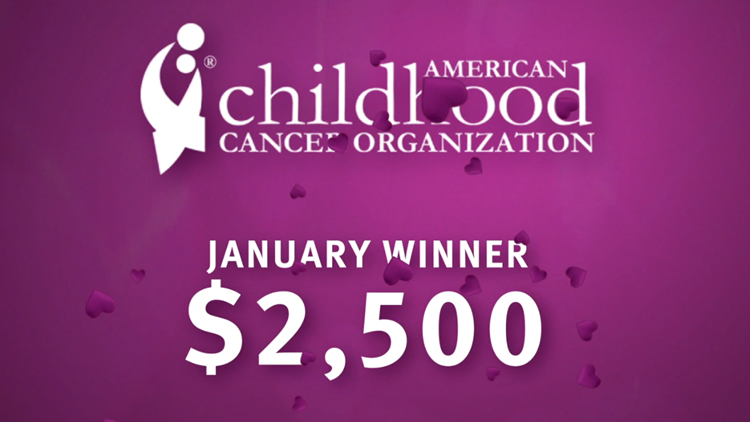 2021 Winner of Who Do you Love, Healthy Living: American Childhood Cancer Organization