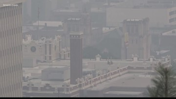 Comparing August 2019 air quality in Spokane to past years