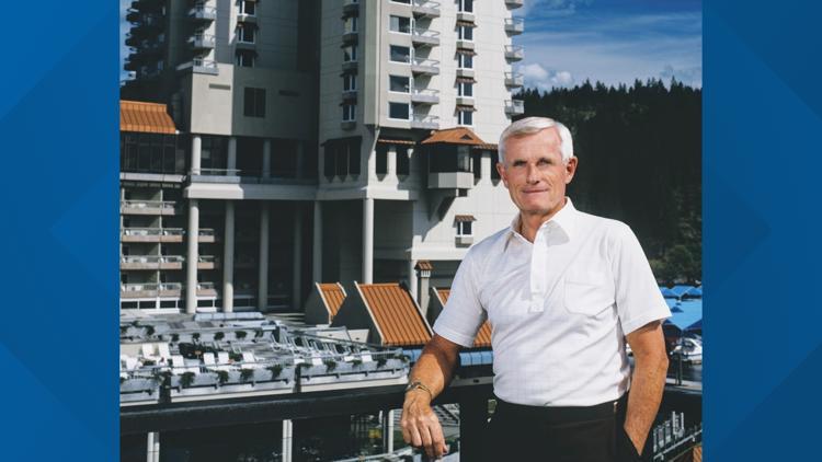 Remembering Duane Hagadone, the Coeur d'Alene native who shaped the Lake City