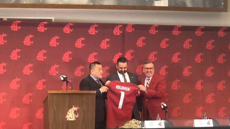 'This is an amazing place': Rolovich speaks to media for first time as WSU head coach