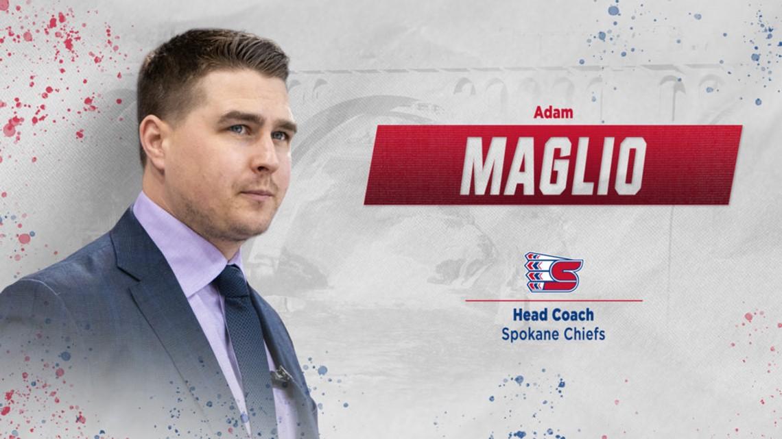 Spokane Chiefs name Adam Maglio new head coach