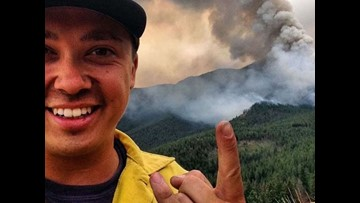 Washington firefighter burned in Twisp River Fire shares story 4 years later