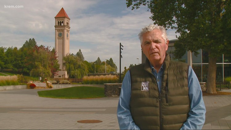 Thanks to a local effort 50 years ago, people now could enjoy the Riverfront Park clock tower
