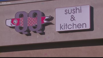 QQ Sushi in North Spokane reopens Tuesday with new management, staff