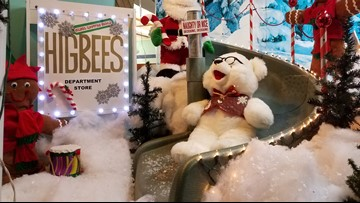 Silver Valley store upcycles junk to create nostalgic Christmas windows