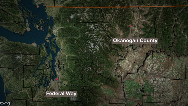 Missing Okanogan County man found in Federal Way