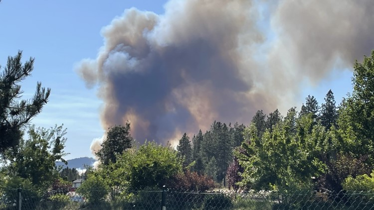 75-acre fire forces Silverwood Theme Park evacuations in Athol