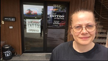 Sandpoint tattoo shop reopens in new location months after massive fire