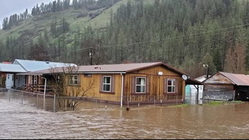 Idaho Gov. issues state of emergency for Idaho Co. flooding