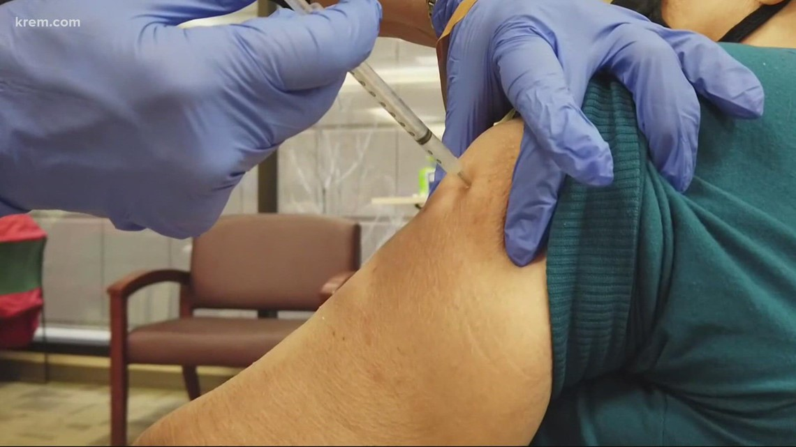 8% of Spokane workers remain unvaccinated and other top stories at 6 p.m.