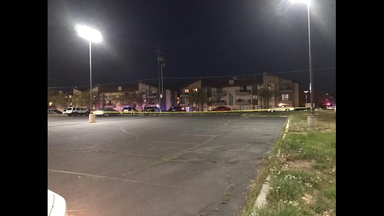 PHOTOS: North Spokane shooting near Serrano Apartments
