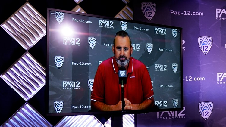 Nick Rolovich discusses decision to not get COVID-19 vaccine during Pac-12 media day