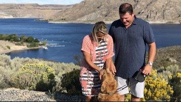 'There was just not a better feeling': Grand Coulee community helps find dog lost in wilderness