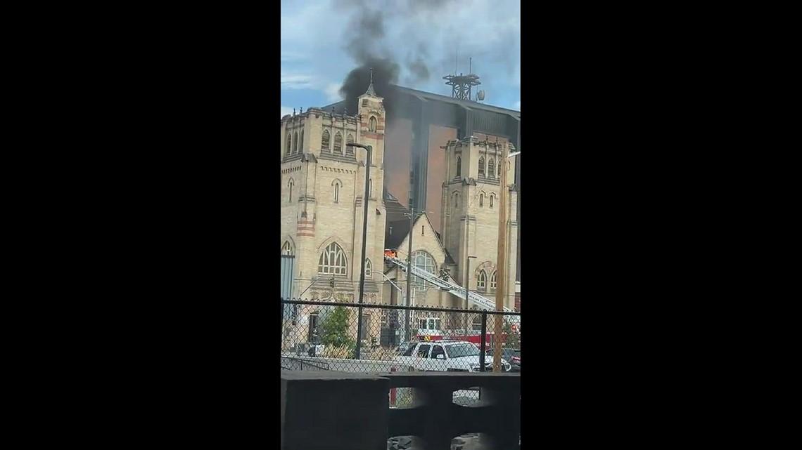New Community Church Fire