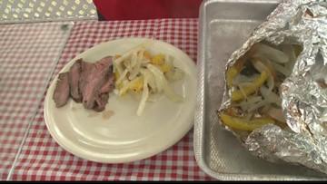 Tom's BBQ Forecast: Three-Way Marinated Flank Steak