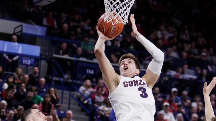 Former Gonzaga forward Filip Petrusev taken by Philadelphia 76ers in second round in NBA Draft