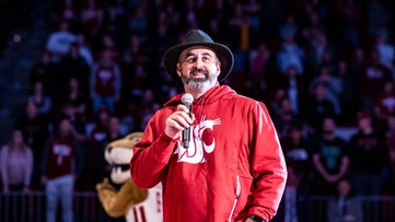 WSU's Nick Rolovich giving back to Pullman, one meal at a time