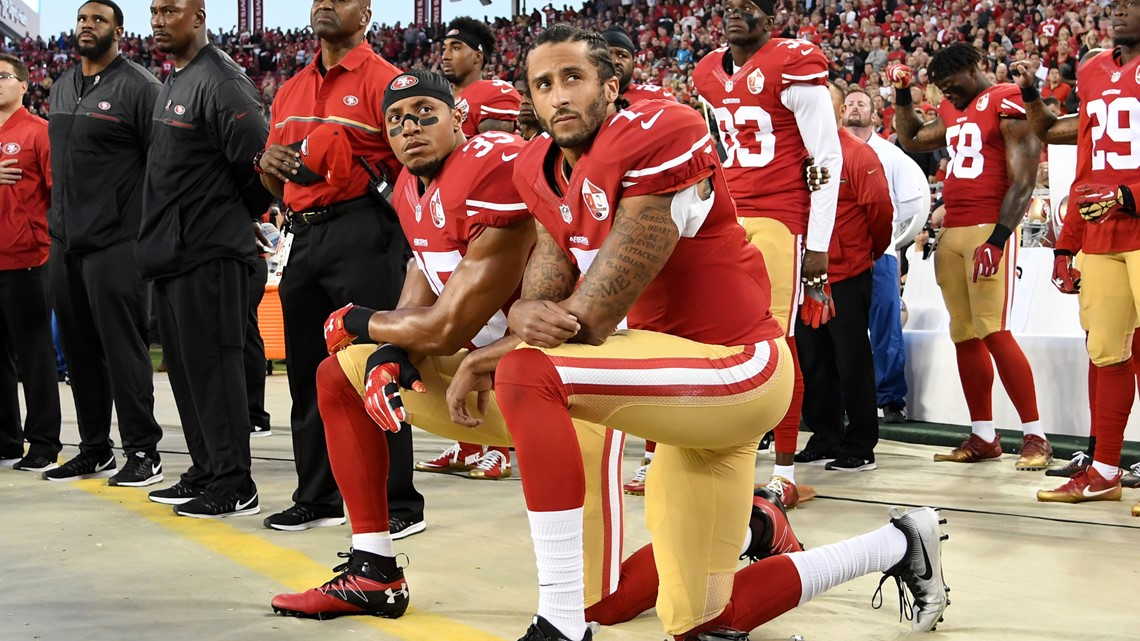 Opinion: NFL players shouldn't be criticized for kneeling during the national anthem