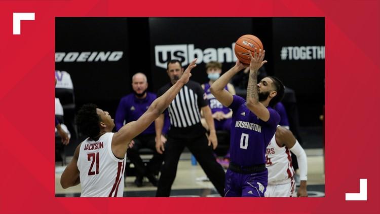 Tsohonis scores 29, hits winner as Washington nips rival WSU