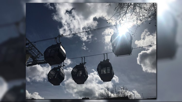 The gondola lift will return to service in the  spring of 2018.