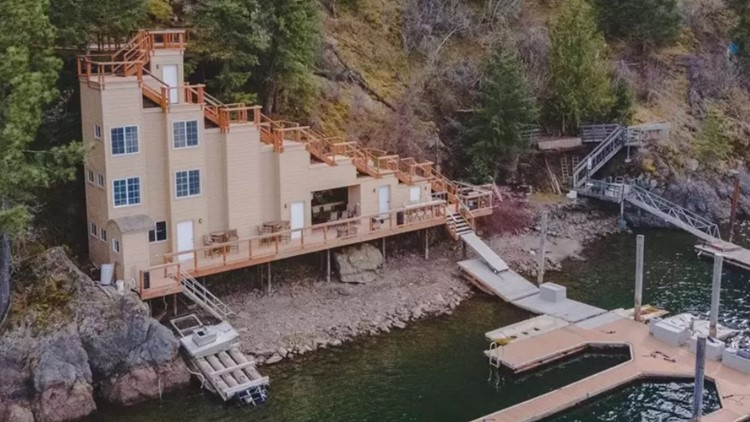 'The Stair Home' on Lake Coeur d'Alene is up for sale