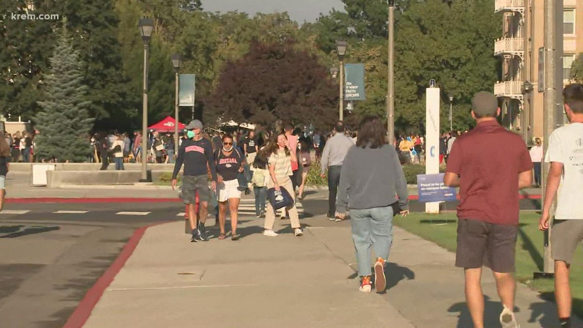 Gonzaga students move-in for new school year