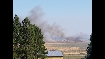 Ephrata brush fire quickly put out by local firefighters