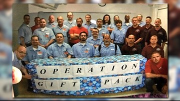 Inmates at Idaho prison donate care packages for Treats 2 Troops