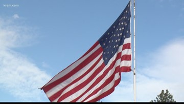 Post Falls City Council allows business' 375-square-foot American flag to fly