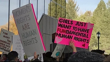 Spokane hosts Women's March for third year in a row