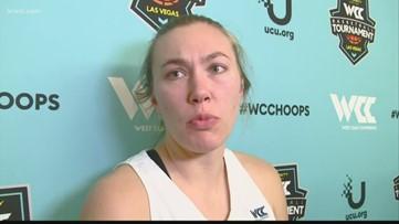 Gonzaga women upset by Portland in WCC semi-finals