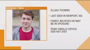 Pend O'Reille Co. deputies looking for missing Newport teen