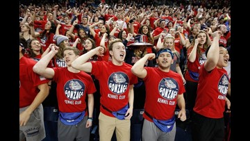 Gonzaga, North Carolina to play in the Kennel on GU's Christmas break
