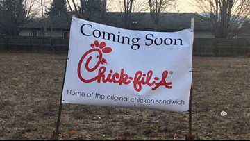 Hayden development official thinks Chick-fil-A sign might be prank