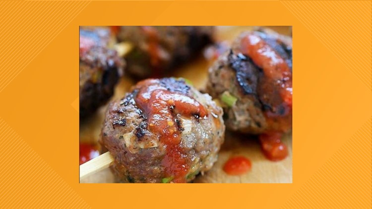 Tom's BBQ Forecast: Grilled Meat Balls