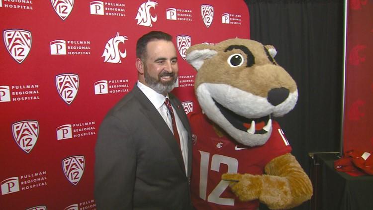 Nick Rolovich has impromptu meetup with WSU fans in Seattle