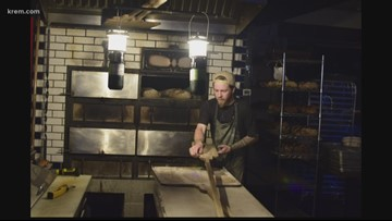 Spokane baker continues to serve up fresh bread in a winter power outage
