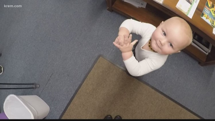 Spokane Valley chiropractor works on babies as young as one day old