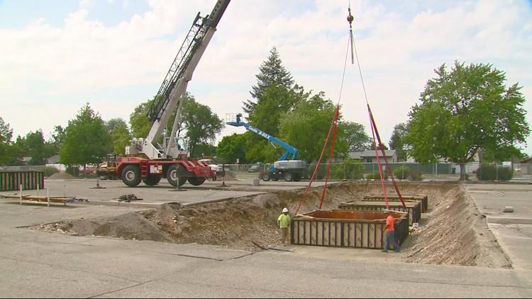 North Spokane Corridor begins to take shape on Spokane Community College campus