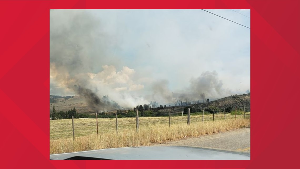 300 acre fire near Oroville 'knocked down,' may have been