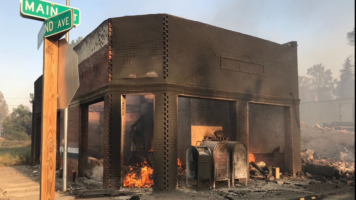 Wildfires rage through Malden and Pine City, destroying homes | krem.com