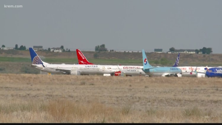 Boeing looking for hundreds of workers in Moses Lake to work on grounded 737 MAX fleet