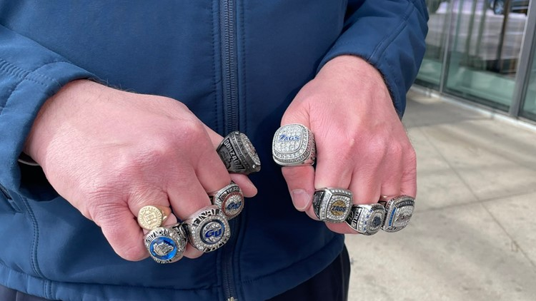 Gonzaga president's NCAA Tournament rings are testament to decades of success