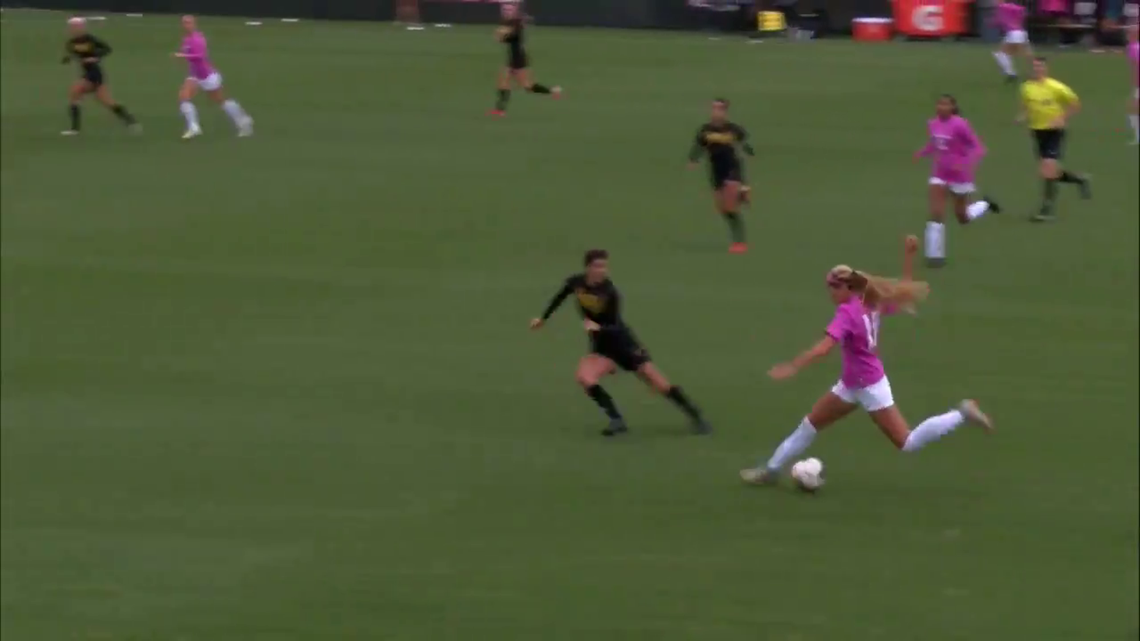 Video of WSU women's soccer player faking out opponent goes viral