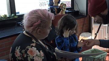 Spokane Valley hairstylist cuts hair for children with disabilities