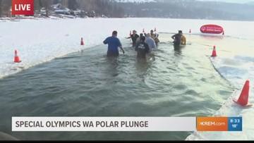 Spokane Polar Plunge enters final day as public gets chance to take a cold swim