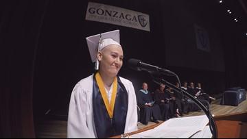 Through cancer diagnosis, Gonzaga Prep valedictorian inspires