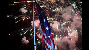 Where you can and cannot set off fireworks in Wash  on the
