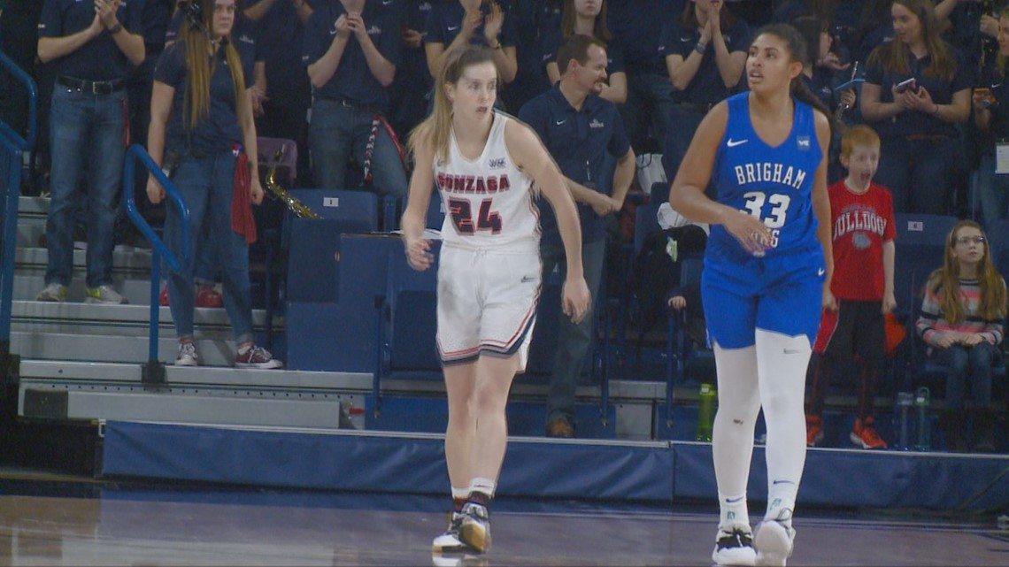 Gonzaga guard Katie Campbell out for the season with knee injury