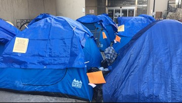 Lawsuit filed over City of Spokane's response to Camp Hope